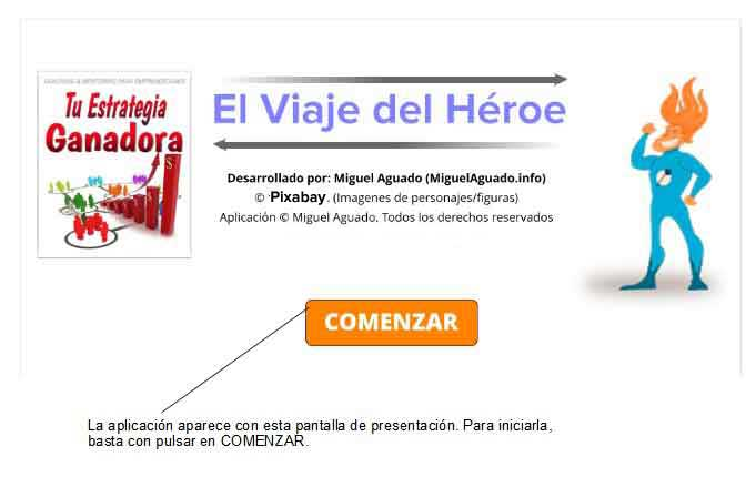 app el viaje del héroe y arquetipos